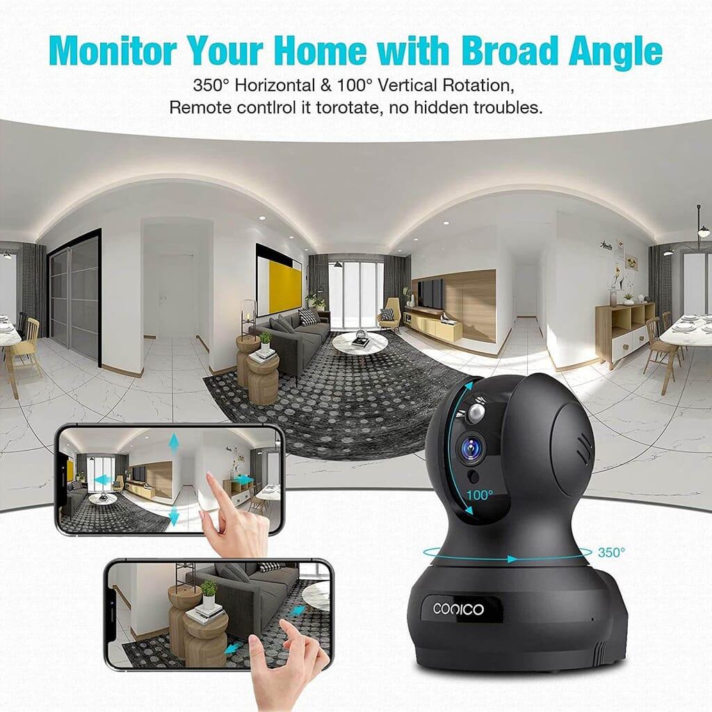 conico camera features