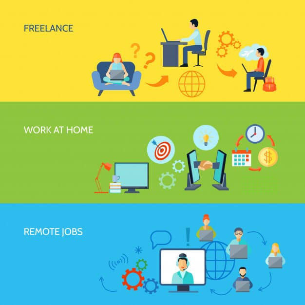 freelance vs remote job