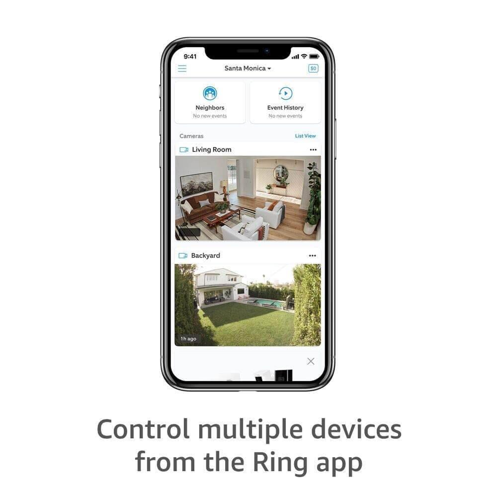 ring wireless camera notification